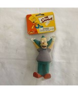 The Simpsons Krusty the Clown SQUEEZIES Stress Relief Doll Vintage NWT New - $23.75