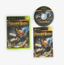 Prince of Persia The Sands of Time (Microsoft Xbox 2003) Complete with Manual - $9.45