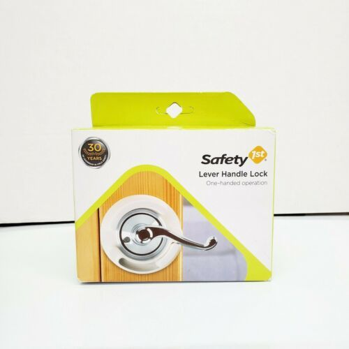 Safety 1st French Door Lever Handle Baby Proof Child Lock - One Hand Use - NEW - $8.25