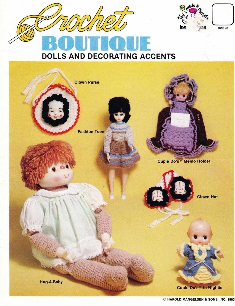 Primary image for CROCHET BOUTIQUE DOLLS & DECORATING ACCENTS FASHION TEEN