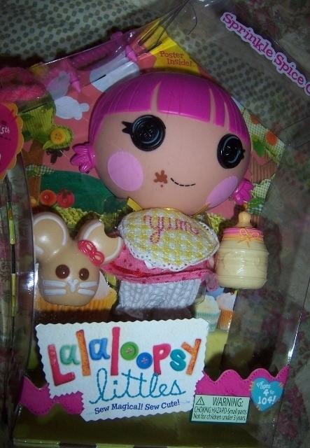 Lalaloopsy Littles Sprinkles Spice Cookie Doll Bonus Poster Sugar Cookie Model