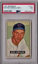 1951 Bowman Wayne Terwilliger #175 PSA 7 P322 - $32.82