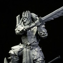 King Orc - Warrior - Ancient - 3D - Printed HQ - Resin Miniature - Unpainted - D - $14.99