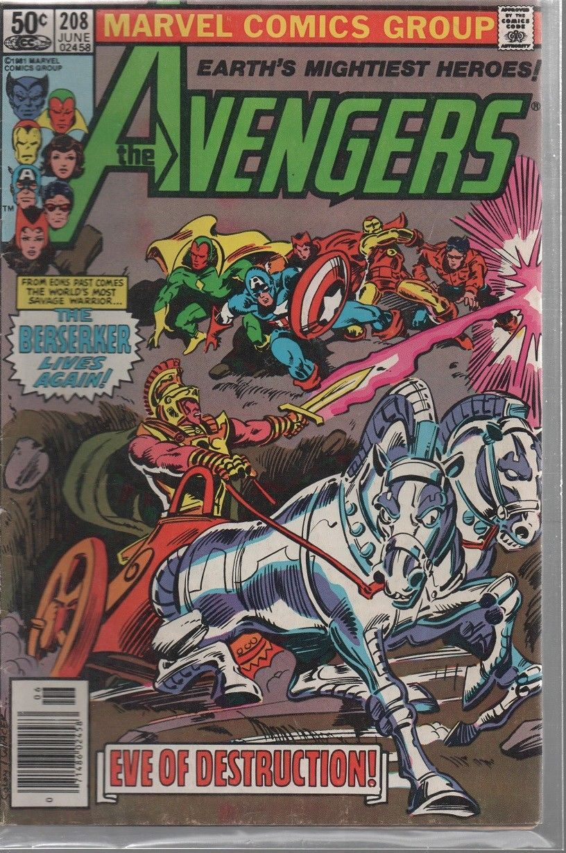 Avengers #208  - June 1981  - Marvel Comics - We Combine Shipping.