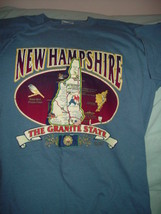 New Hampshire The Granite State T-Shirt Size Large - $14.00