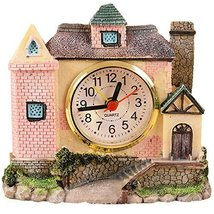 George Jimmy Creative Alarm Clock Fashion Wake Up Alarm Clocks - Castle Random - $26.58