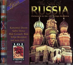 The Soul of Russia [CD] [Classical] [Import] [Audio CD] 101 Strings - $25.00