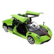 Simulation Model Acousto-Optic Alloyed Car Model 1/32 Green - $25.54