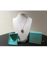 Tiffany & Co. Return to Tiffany Double Heart Pendant Necklace w/ Mother of Pearl - $225.00