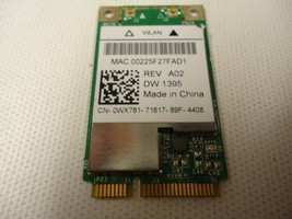 Dell DW 1395 4312BG Wireless Wifi Mini PCI-Express Card WLAN 802.11 b/g ... - $4.05