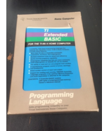 TI 99/4A Texas Instruments Extended BASIC complete suite w/box manual card - $39.99