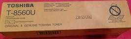 Genuine Toshiba T-8560U (T8560U) Black Toner Cartridge NEW OEM Sealed - $41.14