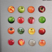 Bright Colorful Magnet on the refrigerator in the form of Fruits. Sticke... - $1.20