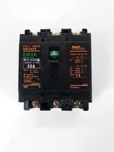 Fuji Auto Breaker EA53A 50A Circuit Breaker 220vac  3P - $22.04