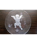 """Vintage Smith Glass 13"""" Christmas Platter Plate with Box - $14.99"""