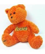 "Hersheys Reeses Pieces Orange Plush Stuffed Teddy Bear Advertising 12"" - $23.75"