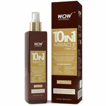 WOW Miracle Hair Oil - Reduce Hair Loss, Split Ends, Dandruff - Smooth, ... - $16.99