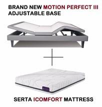 Serta iComfort Queen Motion Perfect III Adjustable bed WITH ICOMFORT MAT... - $2,036.99