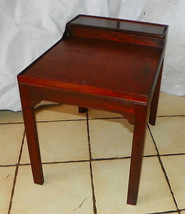 Small Mahogany End Table / Side Table  (RP) - $249.00
