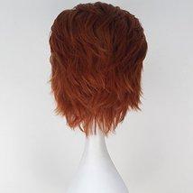Miss U Hair Men Short Straight Hair Synthetic Auburn Color Halloween Cosplay Wig image 6