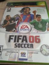 MicroSoft XBox FIFA Soccer 06 image 1