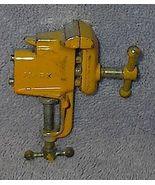 Marx Miniature Cast Iron Toy Tool Bench Vise - $17.50