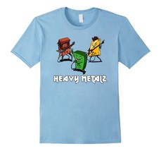 Teacher Style - Heavy Metals Chemistry Periodic Table Rock Music T-Shirt... - $19.95+