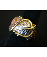 Mens Faux Tri Gold Ring - $5.00