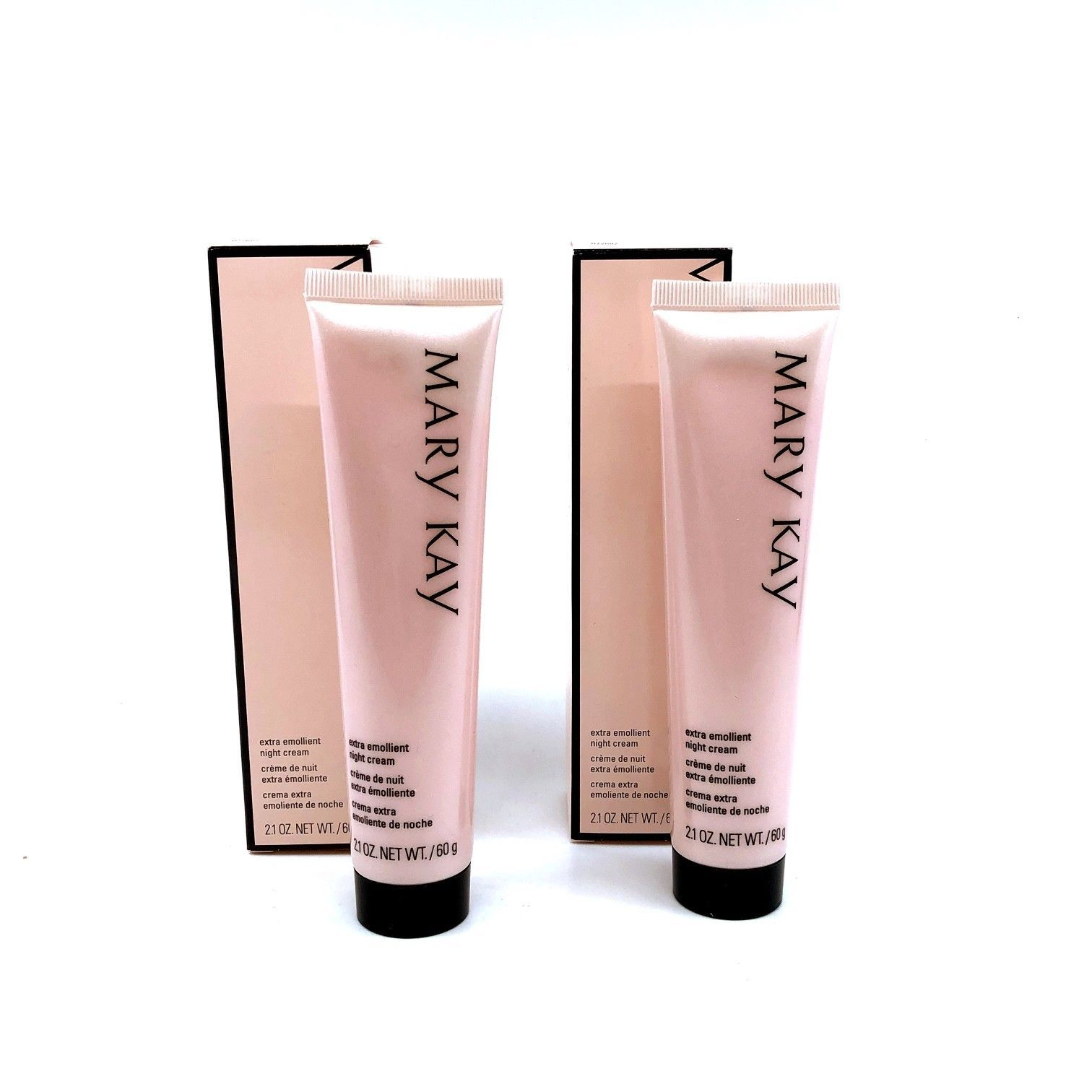 Primary image for 2 PK: MARY KAY Extra Emollient Night Cream, Very Dry Skin ~ Face & Body - 2.1 Oz