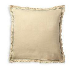 NWT Ralph Lauren Constantina Buff Corbella Euro Pillow Sham 26x26 (Display) - $98.99