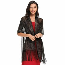 Sparkling Metallic Shawls and Wraps for Evening Party/Formal Dresses (20... - $21.64+