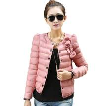 Fashion Padded Single Breasted Women Winter Outerwear - $24.66