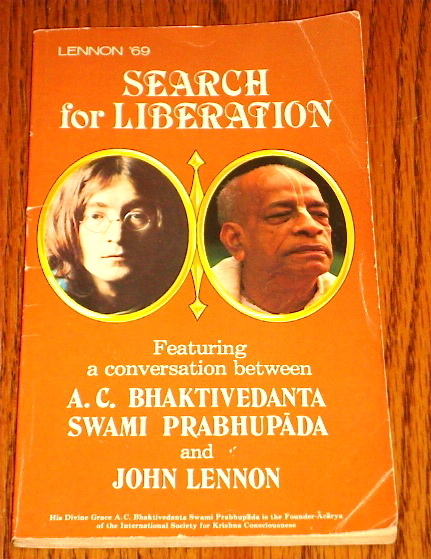 JOHN LENNON SEARCH FOR LIBERATION BOOK 1981