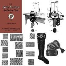 Auto Knitter Machine Knitting Knit Manual Book 1923 - $14.99