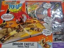 Mattel 2007 Matchbox Pop Up Deluxe Dragon Castle Adventure Set - Rare - Nib - $87.11