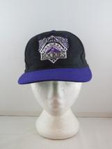 Colorado Rockies Hat (VTG) - Wool  Natural by Starter - Adult Snapback - $49.00