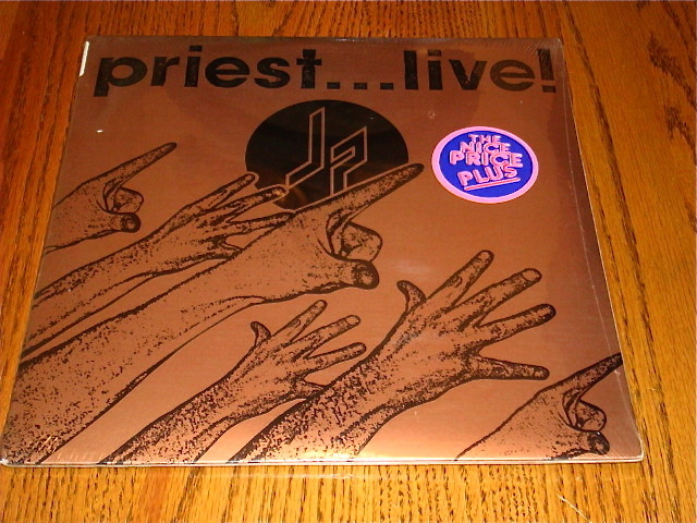 Primary image for JUDAS PRIEST LIVE 2-RECORD SET STILL SEALED WITH STICKER!