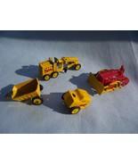 Assorted Vintage Miniature Metal Construction V... - $6.99