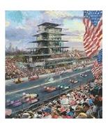 Thomas Kinkade Indianapolis Motor Speedway, 100th Anniversar - $1,890.00