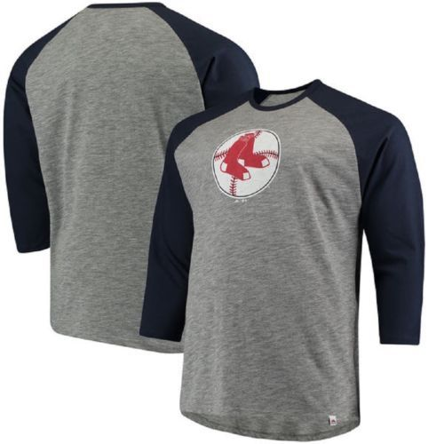 Boston Red Sox Men's Tee Shirt MLB Cooperstown T-Shirt Two To One Margin NEW