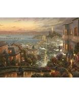 Thomas Kinkade San Francisco, Lombard Street - $1,900.00