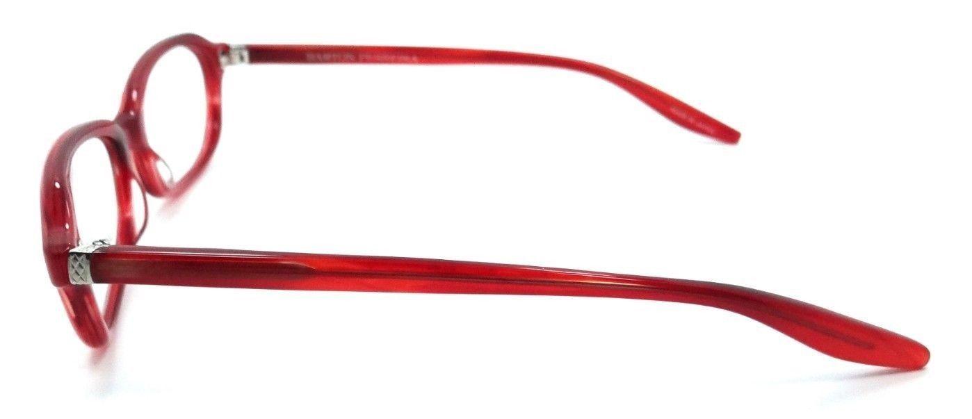 065fff42b41 Barton Perreira Raynette Eyeglasses Frames 51-17-135 Scarlet Silver Unisex  Small