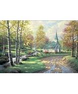 Thomas Kinkade Aspen Chapel - $1,840.00
