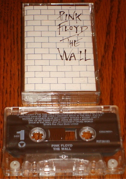 Primary image for PINK FLOYD THE WALL ORIGINAL CASSETTE 1979