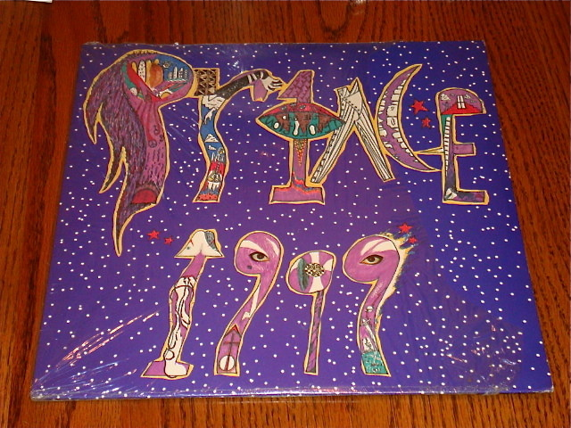 Primary image for PRINCE 1999 ORIGINAL LP STILL IN SHRINK 2-LP SET  1982  FREE SHIPPING IN USA