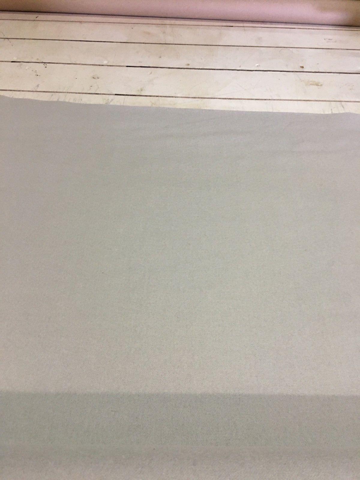 Mid Century Upholstery Fabric Light Gray Wool 3.25 yds NW