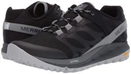 Merrell Antora Misura 7 M EU 37.5 Donna Sneaker Trail Running Scarpe Nere J53102 - $78.94