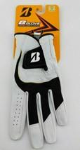 Bridgestone Mens E Golf Glove Cabretta Leather Left Hand Black White M/L... - $15.82