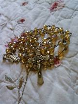 Bronze and Gold Rosary - $21.10