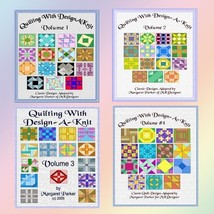 Quilting With Design-A-Knit - All FOUR Volumes ... - $15.00